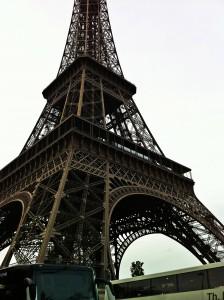 An obligatory shot of the Eiffel Tower