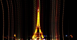 Eiffel tower at night Betty
