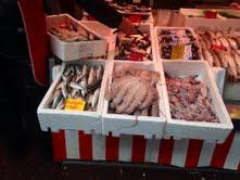 Octopus at Albert Cuypmarkt