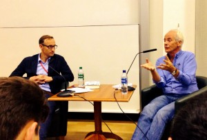 Dr. Damian Tambini in conversation with investigative journalist Nick Davies
