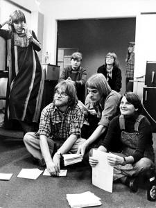Group work in Roskilde University, Denmark, 1977