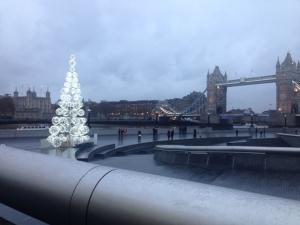 Christmas Tree, London's Southbank