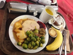 Christmas Dinner at Hall of Residence
