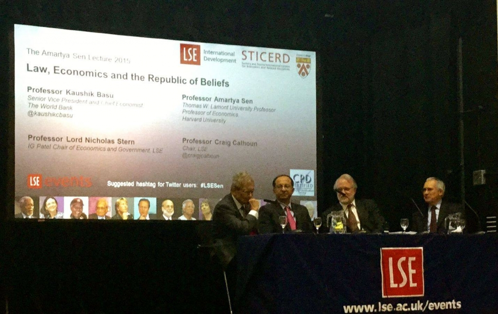 The Amartya Sen lecture