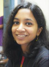 Picture of undergraduate student Krittika