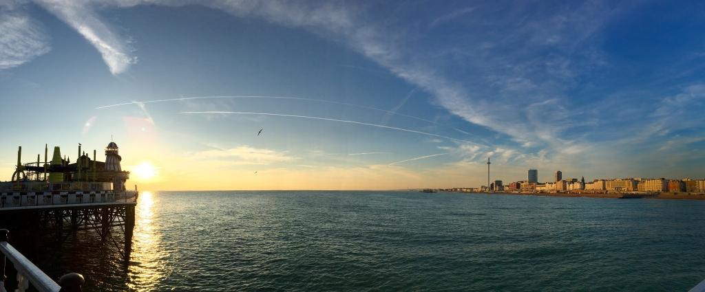 Brighton Harbour sunset