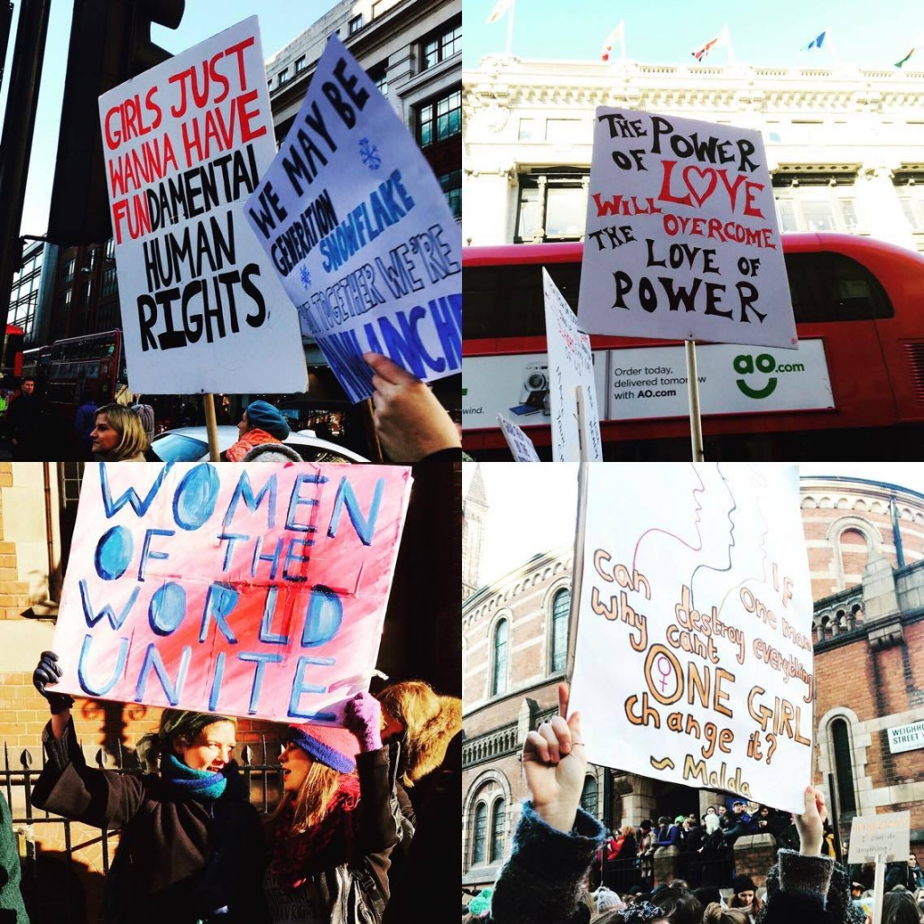 womens march london