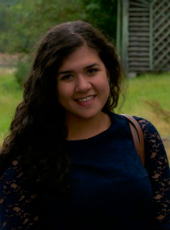 Profile page of Constanza on the student blog