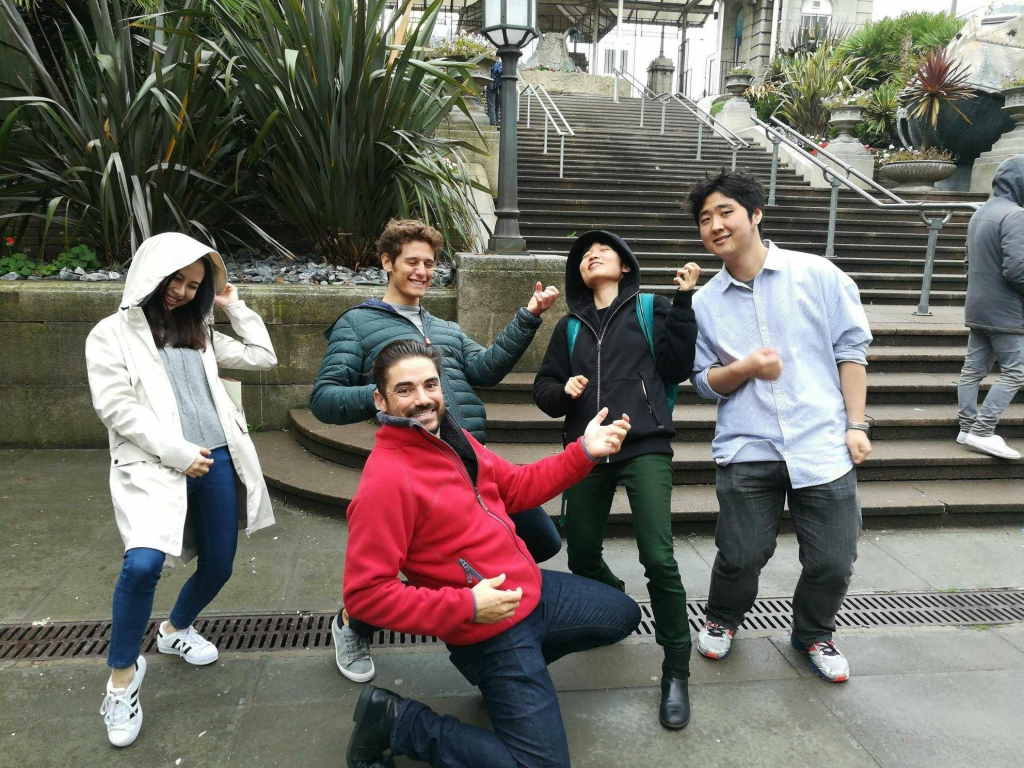 Finance Brighton trip: scavenger hunt team