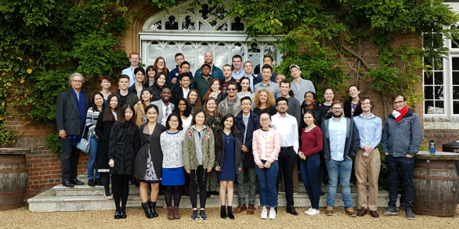 General Course students at Cumberland Lodge