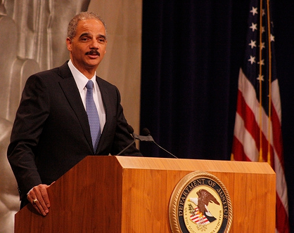 US Attorney General Eric Holder Credit: Ryan J. Reilly (Creative Commons BY)