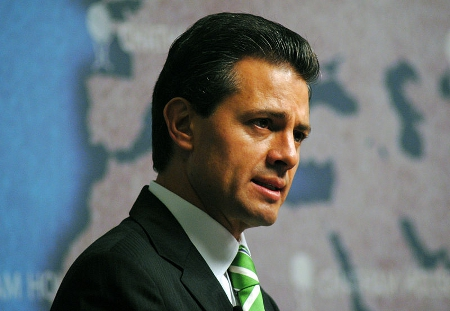 Enrique Peña Nieto, President of Mexico By Chatham House [CC-BY-2.0], via Wikimedia Commons