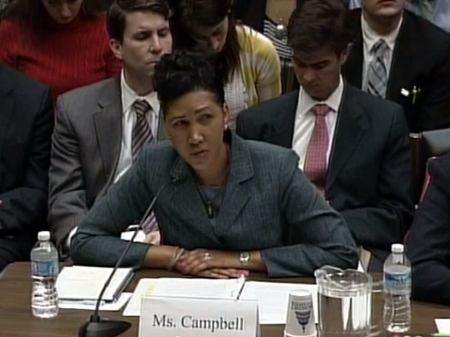 Cheryl Campbell, Senior Vice President at CGI Federal gives testimony to House Energy and Commerce Committee 24 October