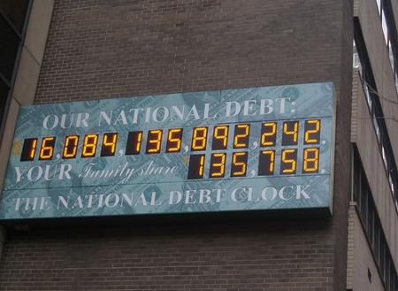 Will America's debt continue to rise? Credit: JMazzolaa (Creative Commons BY SA)