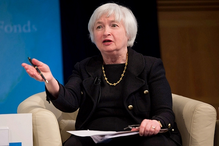 Janet Yellen, currently Vice Chair of the Federal Reserve System Credit: IMF (Creative Commons BY NC ND)