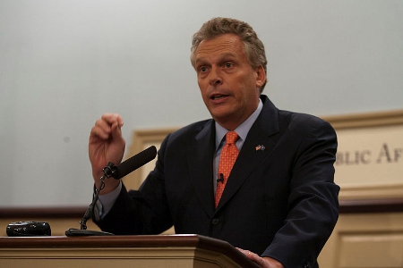 Terry McAuliffe By Miller Center [CC-BY-2.0 (http://creativecommons.org/licenses/by/2.0)], via Wikimedia Commons