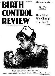 Sanger published the Birth Control Review from 1917 to 1929. [Public domain], via Wikimedia Commons
