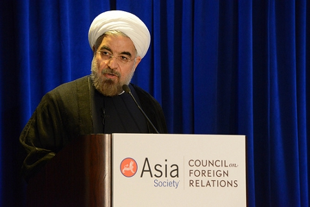 Dr. Hassan Rouhani, President of Iran Credit: Asia Society  (Creative Commons BY NC ND)
