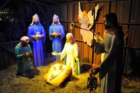 Room for the Nativity? Credit: Kevin Harber (Creative Commons BY NC ND)