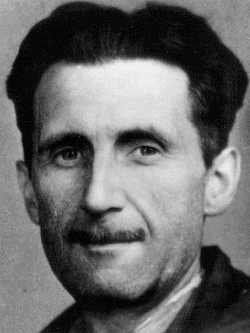 George Orwell's press photo. By Branch of the National Union of Journalists (BNUJ) [Public domain], via Wikimedia Commons