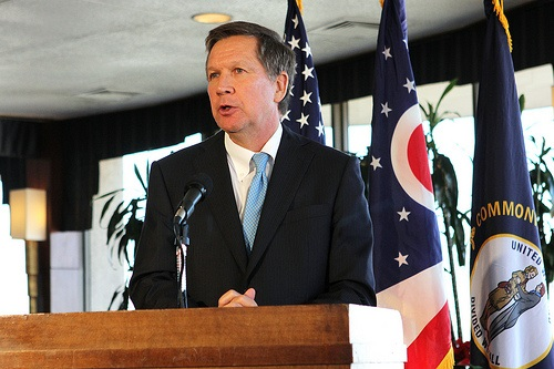 Ohio Governor John Kasich - Photo Credit: Governor Beshear (Creative Commons: BY-NC-ND 2.0)