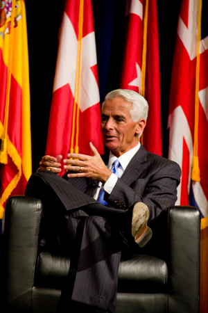 Former Governor of Florida, Charlie Crist Credit: Neon Tommy (CC- BY- SA-2.0)