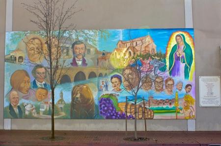 Napa mural