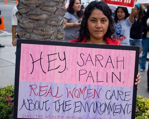 Sarah Palin Environment