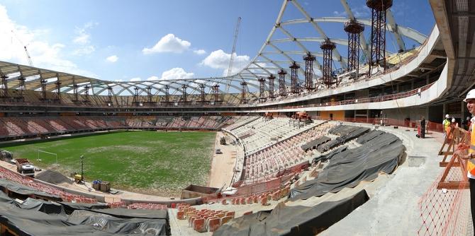 Brazil stadium