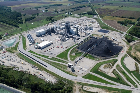 IGCC power plant at Edwardsport Station in Knox County, Indiana. Credit: Duke Energy (Creative Commons BY NC ND)
