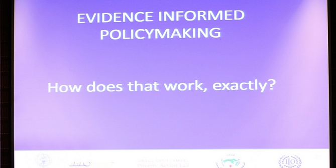 Evidence policymaking