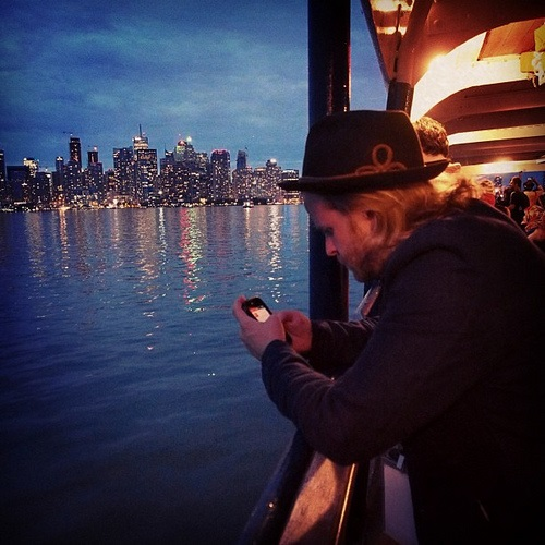 Mobile on a Boat Ride