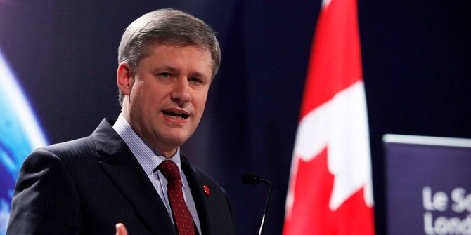 Stephen Harper, Conservative Prime Minister of Canada, is leading the reforms. Credit: Richard Lewis (CC BY-NC-ND 2.0)