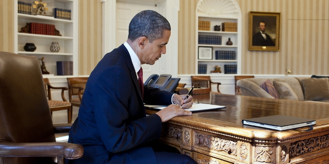 Obama signing featured
