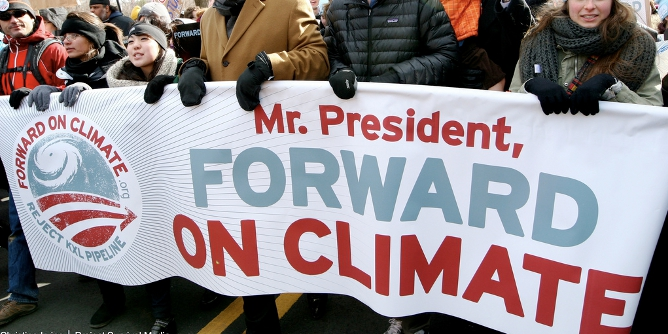 Obama climate protest featured