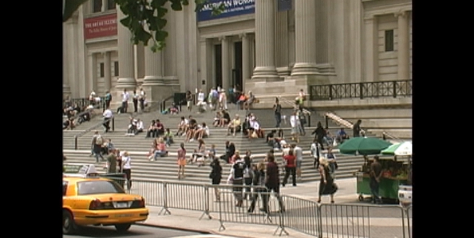 Steps of The Metropolitan Museum of Art, New York City, 2010