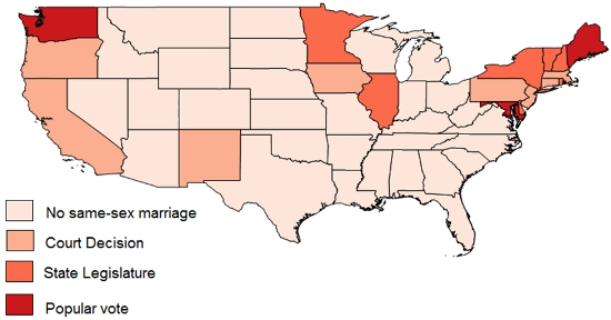 the changes in the attitudes toward marriage among women in the united states Trends in public attitudes towards abortion because sexual assaults are more common among younger women adults living in households in the united states.