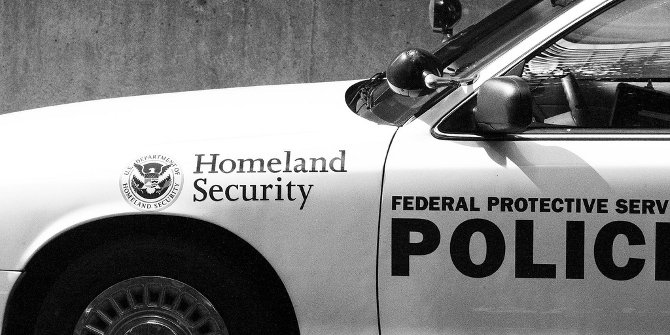 "The U.S. ""Homeland Security"" regime created more lobbying, not the other way around"