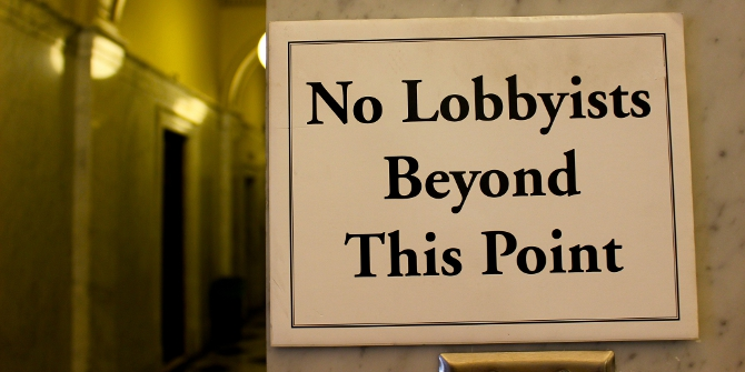 Lobbying is growing in the US – more information may be the best regulation.