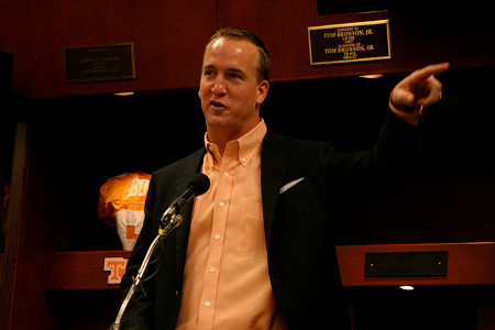 Peyton Manning Credit: Tennessee Journalist (Flickr, CC-BY-NC-SA-2.0)