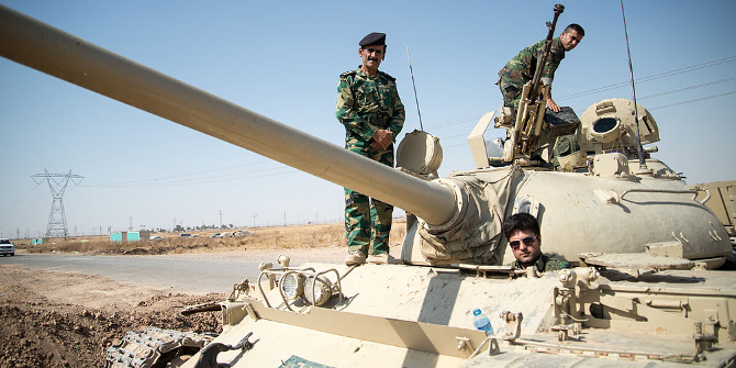 It is politically and morally right for Western countries to support Kurdish forces in Iraq