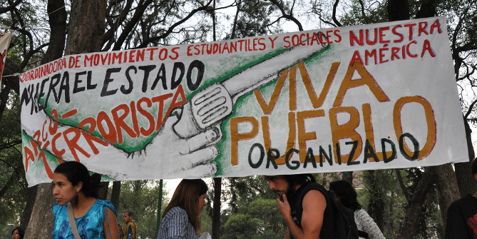 """National march against the """"war on drugs,"""" Mexico City Credit: Kara Newhouse (Flickr, CC-BY-NC-SA)"""
