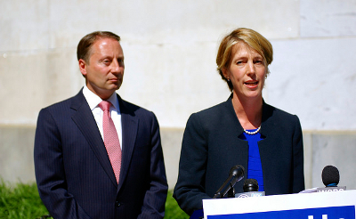 Press conference with Zephyr Teachout and Rob Astorino Credit: Michael Johnson (Flickr, CC-BY-2.0)