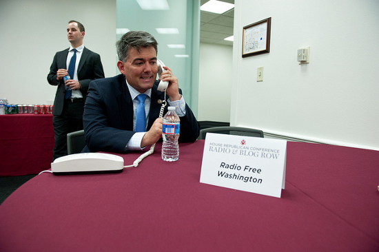 Representative Cory Gardner Credit: House GOP (Flickr, CC-BY-NC-2.0)