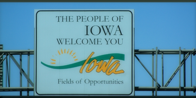 Iowa welcome featured
