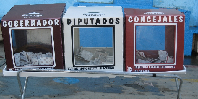 Auditing local elections by comparing polling stations in every precinct finds evidence of electoral fraud in Mexico.