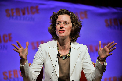 Michelle Nunn Credit: Be the Change, Inc. (Flickr, CC-BY-NC-SA-2.0)