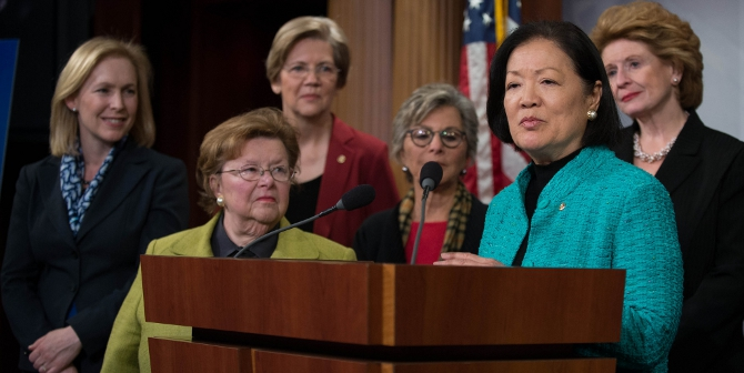 Featured image: Senate Democratic Women Discuss Importance Of Raising Minimum Wage To Women Credit: Senate Democrats (Flickr, CC-BY-2.0)