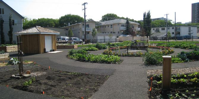 Community gardens and farmers' markets can help to relieve food deserts, but not for an entire city.