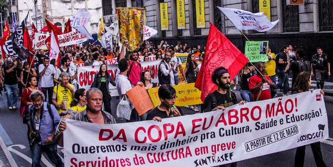 In Latin America, strikes can help bring about increases in social security and welfare spending, while mass protests can help safeguard education spending.